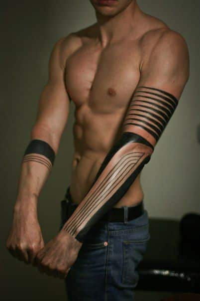 Arm tattoos for men designs and ideas for guys for Tattoo around arm