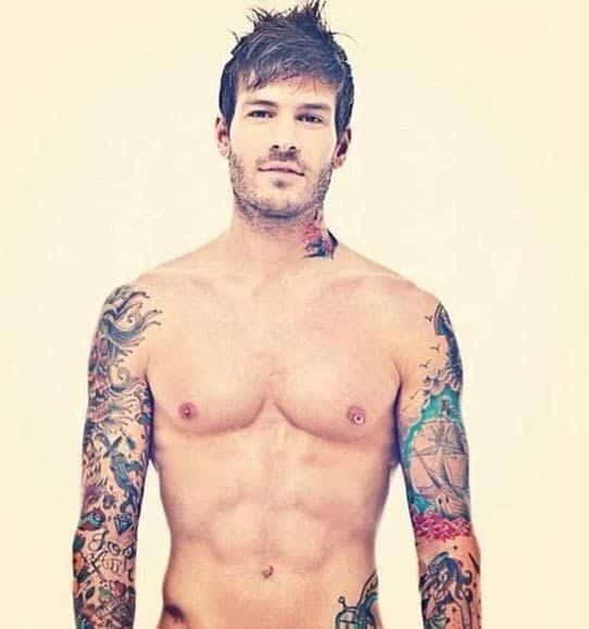 Nude Tattooed Men 116