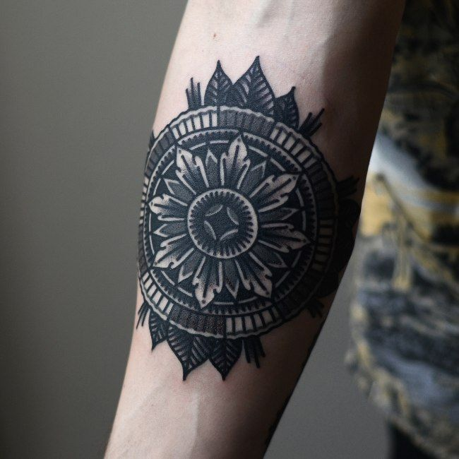 fancy hand mirror tattoo. Perfect Tattoo This Is One Of The More Popular Arm Tattoo Ideas Its Simplistic  Yet Intricate Design Closely Mirrors A Tribal While Allowing Wearer To  And Fancy Hand Mirror Tattoo