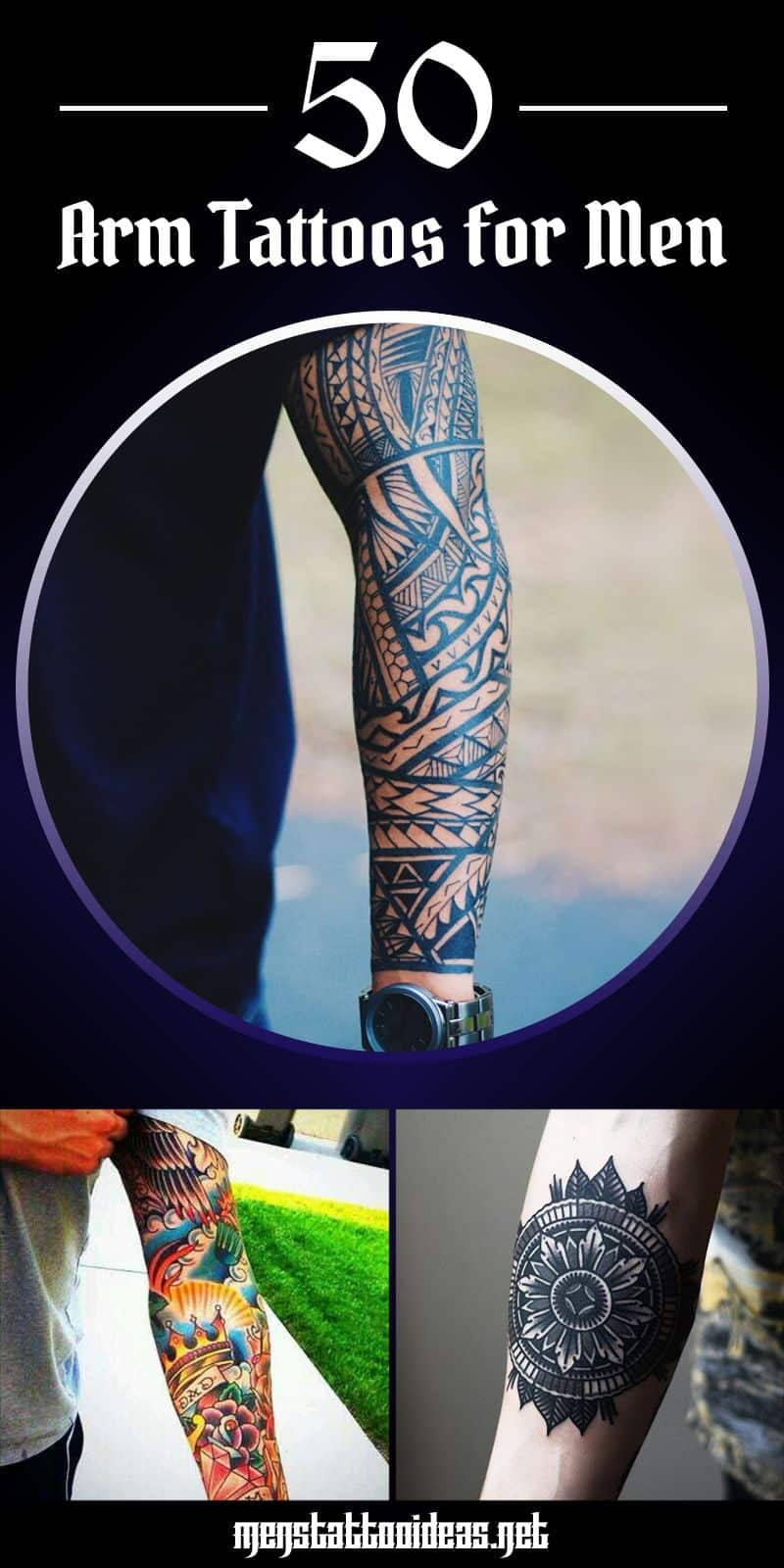 d3b5e1a4f Arm Tattoos For Men - Designs and Ideas for Guys