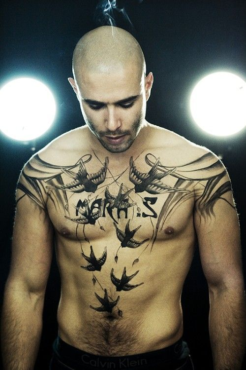 Chest Tattoos for Men - Men's Tattoo Ideas