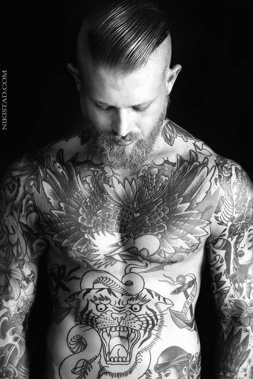 Tattoo Designs In Chest: Chest Tattoos For Men
