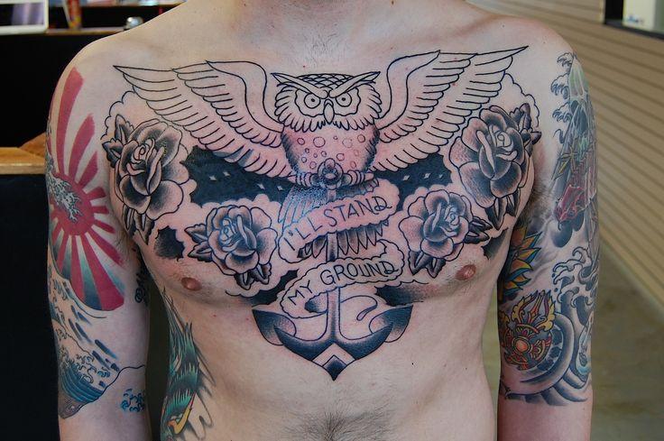 Chest Tattoos For Men  Mens Tattoo Ideas