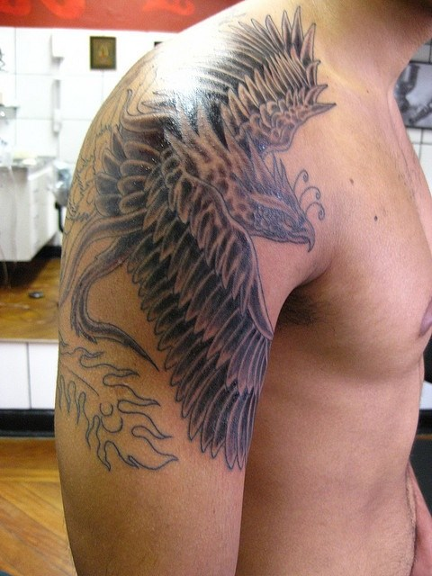 Shoulder Tattoos For Men Designs On Shoulder For Guys border=