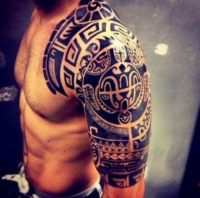 Shoulder Tattoos For Men - Designs on Shoulder for Guys