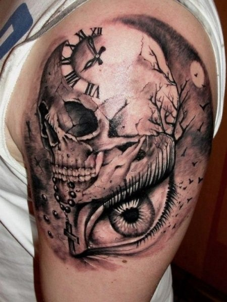Skull Tattoos Designs For Men Meanings And Ideas Guys