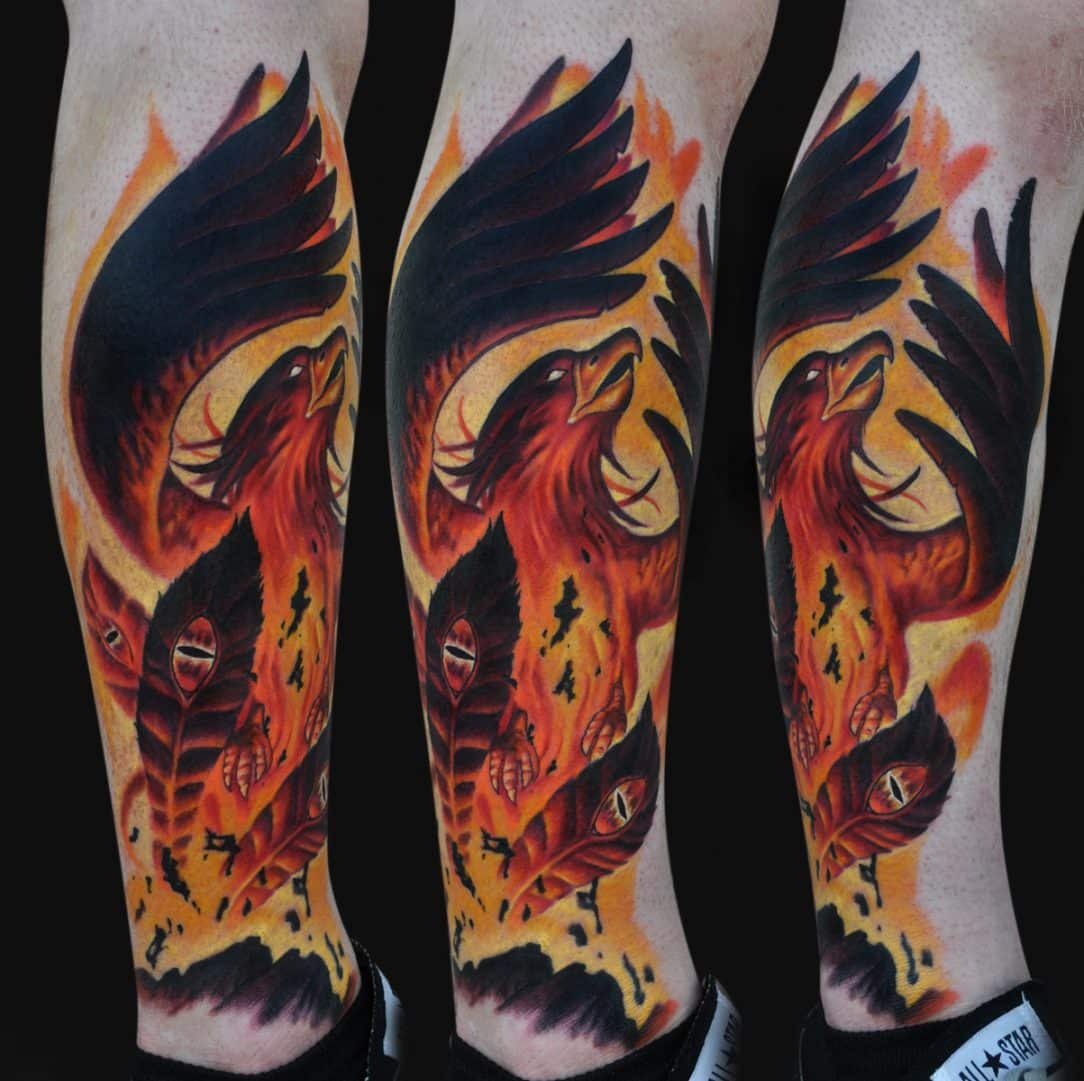 Phoenix Rising Tattoos