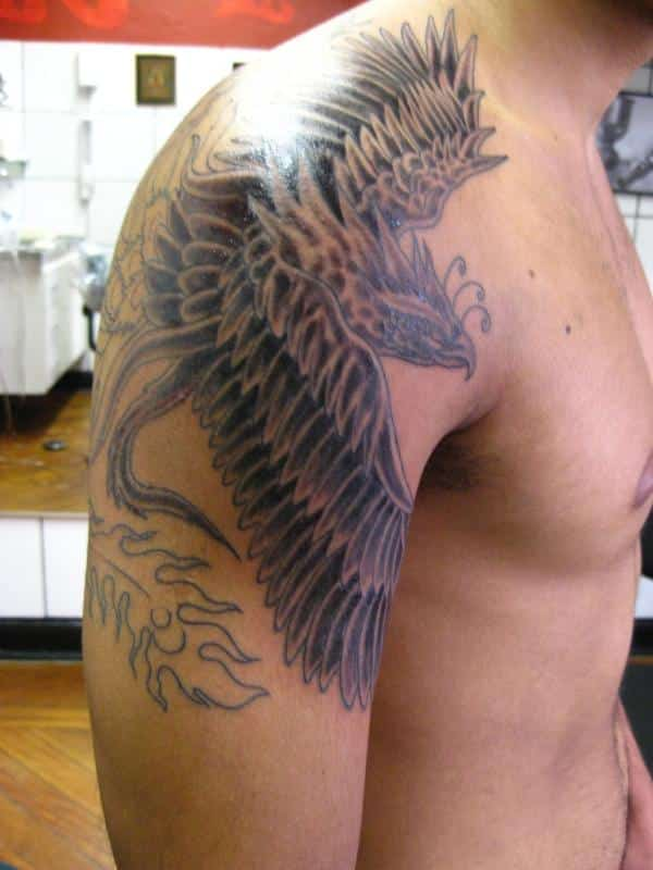 Phoenix Tattoo Arm