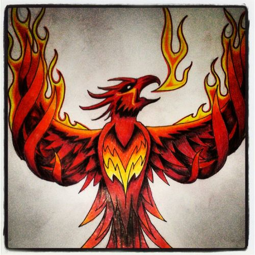 Phoenix Tattoo Designs Meaning