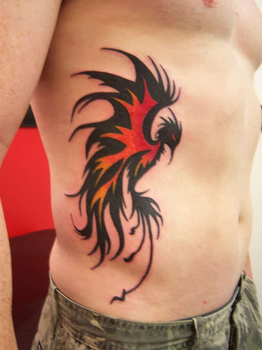 Symbolic meanings of phoenix tattoos for men for Mens tattoos with meaning