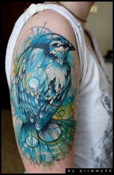 Bird Tattoos For Men Bird Tattoo Design Ideas For Guys