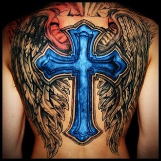 Cross Tattoo Ideas for men