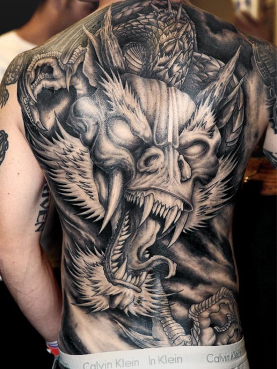 dragon tattoos for men dragon tattoo designs for guys. Black Bedroom Furniture Sets. Home Design Ideas