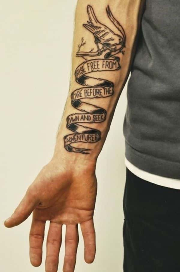 Small Tattoos For Men On Forearm