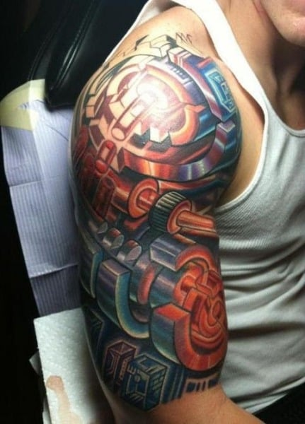 Half Sleeve Tattoos For Men - Ideas and Designs for Guys