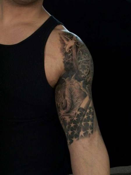 442f31e1b Half Sleeve Tattoos For Men - Ideas and Designs for Guys