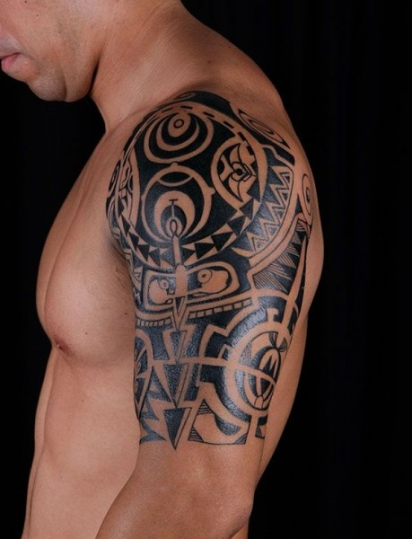 half sleeve tattoos for men ideas and designs for guys. Black Bedroom Furniture Sets. Home Design Ideas
