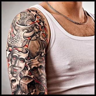 Half Sleeve Tattoo Ideas for men