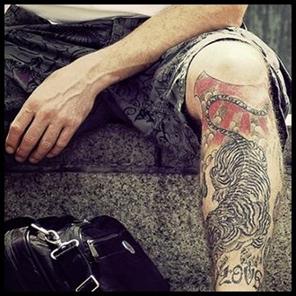 Men 39 s tattoos ideas inspiration and designs for guys for Male thigh tattoos