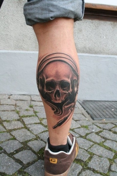 Leg tattoos for men ideas and designs for guys for Thigh tattoo designs for men