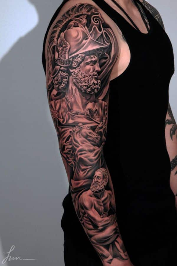 47 sleeve tattoos for men design ideas for guys for Forearm tattoo sleeves