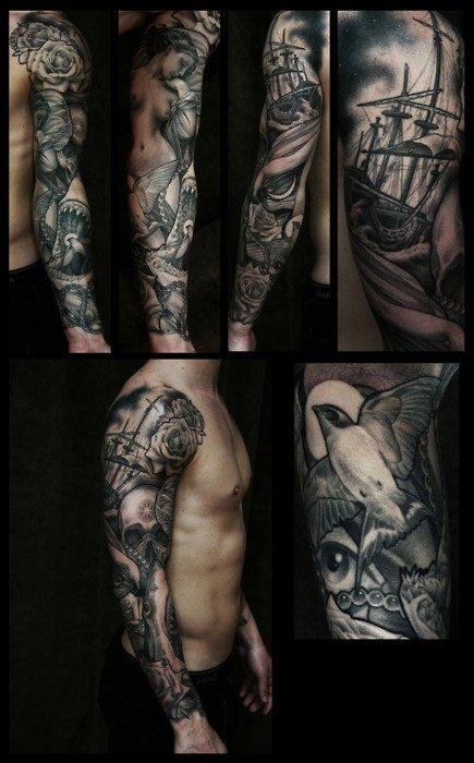 tattoo The Bird Sleeve