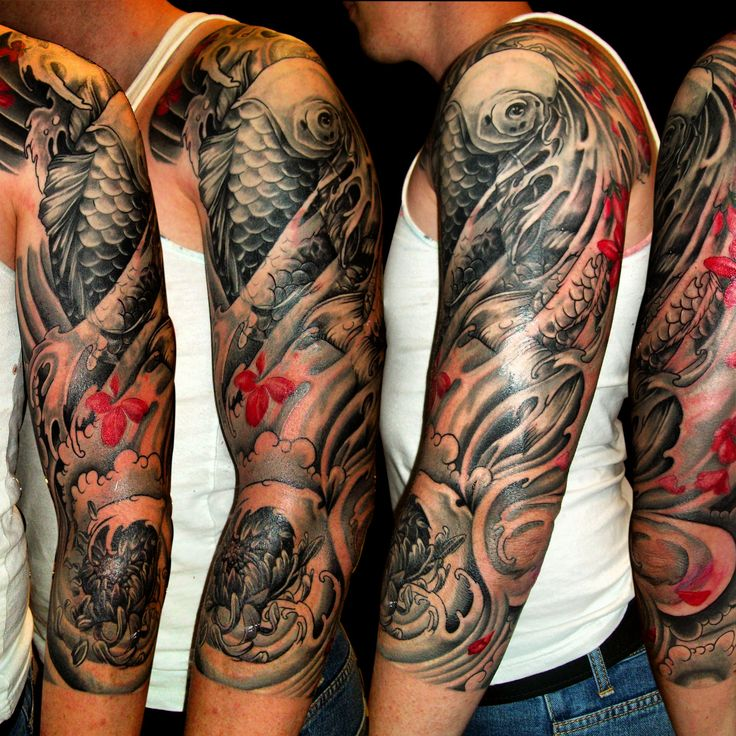 9cc4c6197 47+ Sleeve Tattoos for Men - Design Ideas for Guys