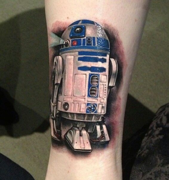 American Traditional Star Wars Tattoo