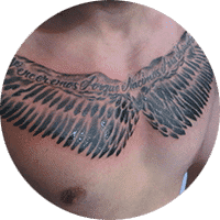 tattoo be brave have courage