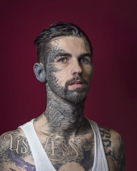 Face Tattoos for Men - Ideas and Designs for Guys
