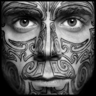 Face Tattoo Ideas for men