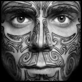 Face Tattoo Ideas for men