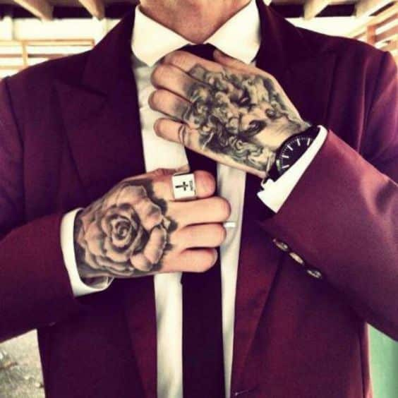 Hand tattoos for men designs and ideas for guys for Tattoo classes online free