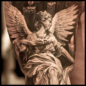 Angel Tattoo Ideas for Guys