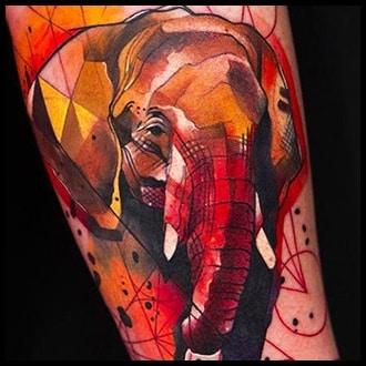 Elephant Tattoo Ideas for men