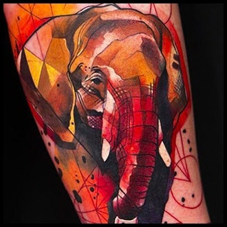 Elephant Tattoo Ideas for men