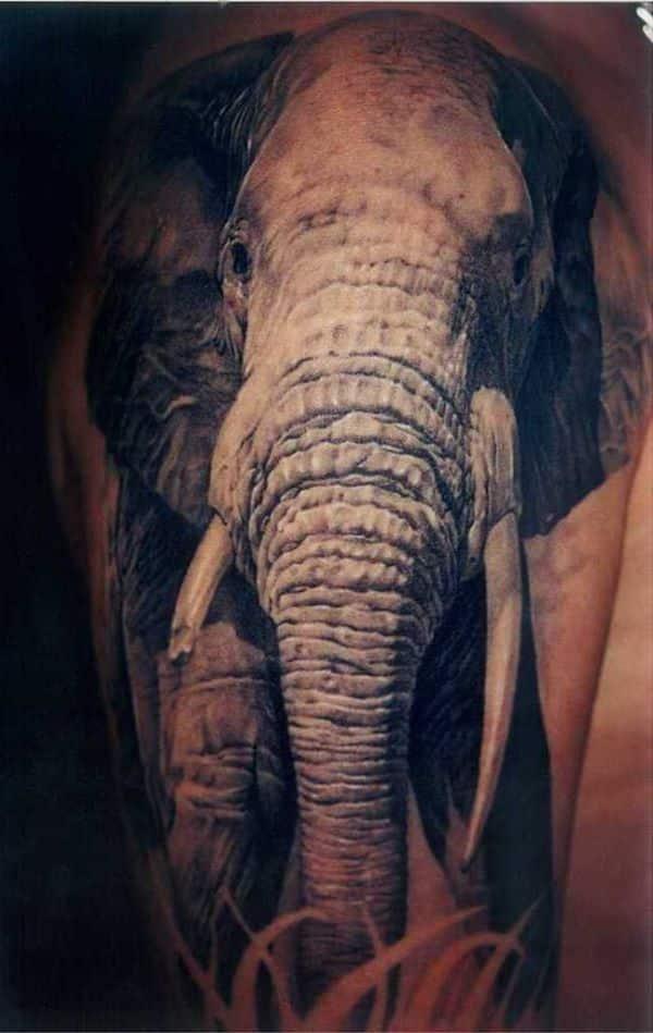 Elephant tattoos for m...