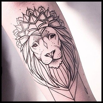 Lion Tattoo Ideas for Guys
