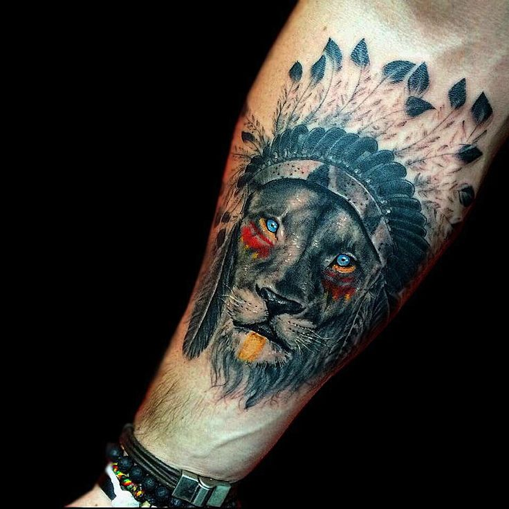 0ed552fd287c8 Lion Tattoos for Men - Ideas and image gallery for guys