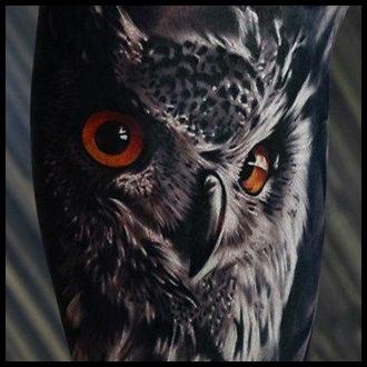 Owl Tattoo Ideas for Guys