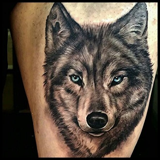 Wolf Tattoo Ideas for Guys