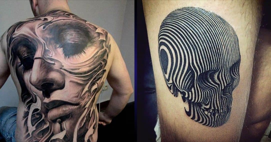 3D TATTOOS FOR MEN - Ideas and Inspiration for Guys Batman Tattoo Chest