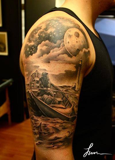 Cloud Chest Piece Tattoo Designs: Ideas And Designs For Guys