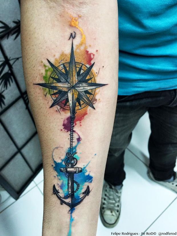 compass-tattoos-07
