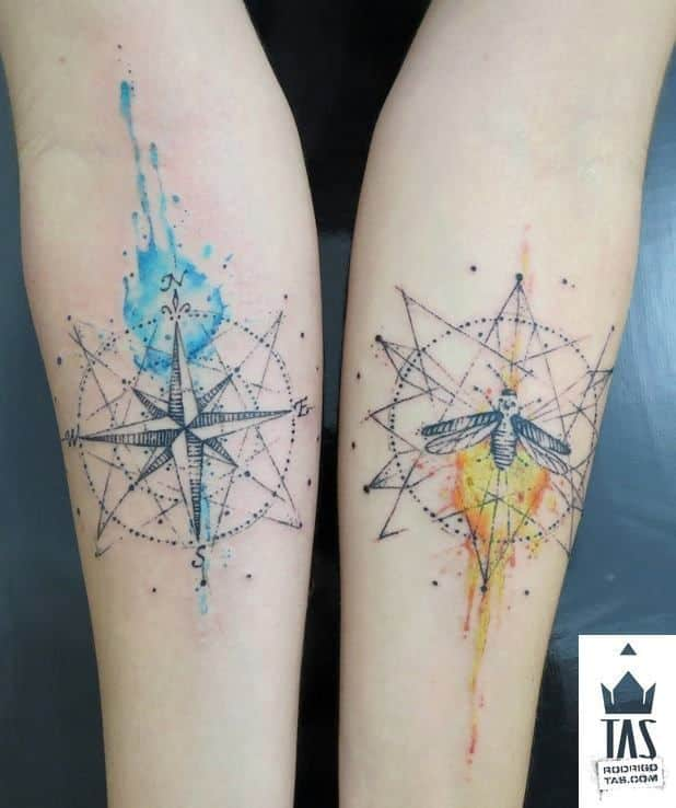 compass-tattoos-14