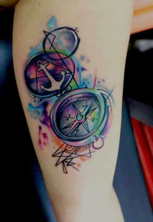 compass-tattoos-17