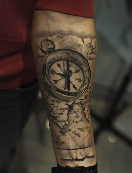 compass-tattoos-24