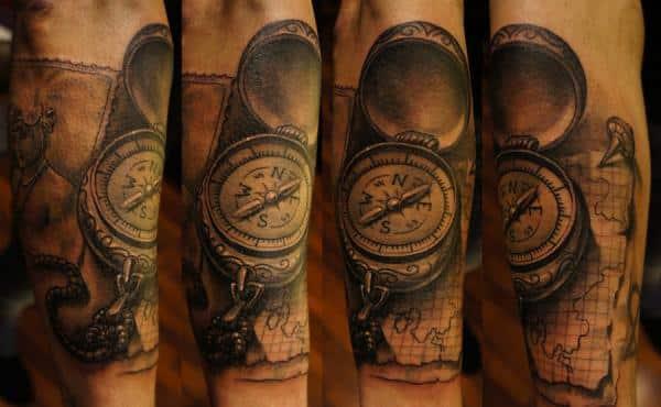 compass-tattoos-28