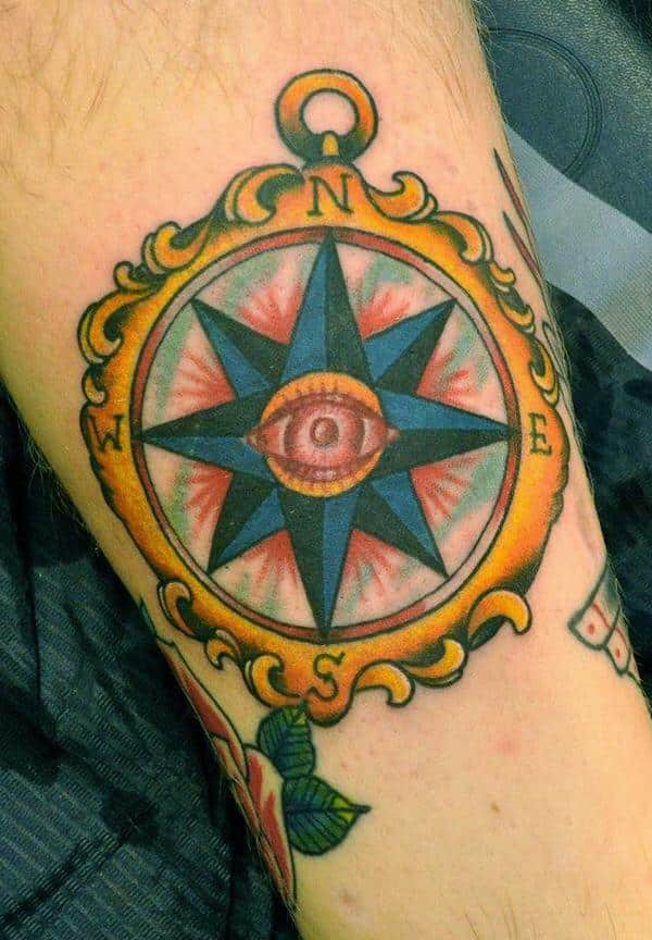 compass-tattoos-33