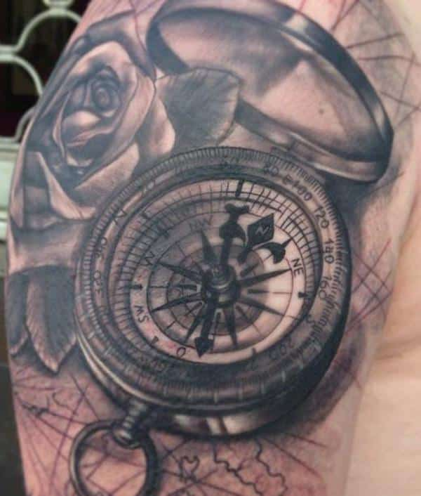 compass-tattoos-36